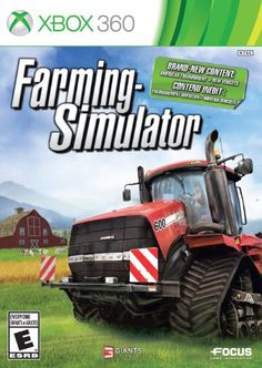 Farming Simulator  Xbox 360 *** Read more  at the image link.Note:It is affiliate link to Amazon.