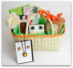 New concept in gift baskets