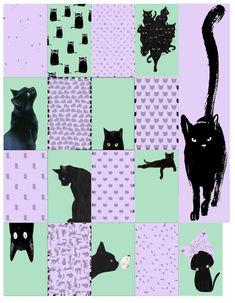 Black Cat Planner Stickers