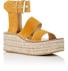 ab91a40ae13 Rag  amp  Bone Tara Suede Wedge Sandals - 7 Ankle Strap Sandals