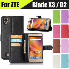 High Quality Fashion Stand Card Luxury Leather Flip Housing Cover Case For ZTE Blade X3 D2 Phone Cases Wholesale In Stock #>=#>=#>=#>=#> Click on the pin to check out discount price, color, size, shipping, etc. Save and like it!
