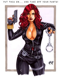 Black Widow by daikkenaurora