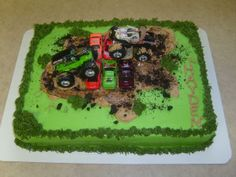 Monster Truck Birthday Cake Image Search Results