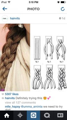 Omgosh! That's how I learned to braid!