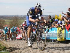 Tom Boonen of Belgium rides and Etixx-QuickStep rides up the Paterberg during the 100th edition of the Tour of Flanders from Bruges to Oudenaarde on April 3, 2016 in Bruges, Belgium. #rvv #rm_112