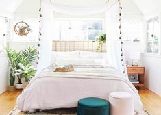 Is Your Bedroom In Need Of A Pick Me Up? It Might Be Time For A Bedding Refresh (+ 36 Affordable Picks) - Emily Henderson #bedroomdecor #bedding #interiors Affordable Bedding, Pick Me Up, Bedroom Inspo, Color Patterns, Interior Design, Furniture, Home Decor, Interiors, Nest Design