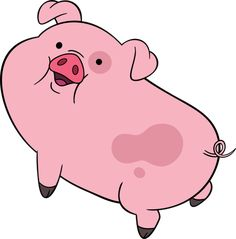 kawaii transparent waddles | Waddles is Mabel Pines' pet pig in Gravity Falls .