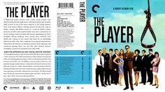 The Player Criterion Collection Blu-ray Custom Cover