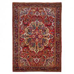 Antique Bakhtiar Wool Rug - 8 10 x12 2
