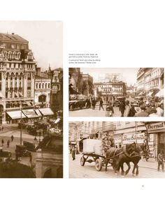 Calea Victoriei in perioada interbelica National Theatre, Communism, Bucharest, Amen, Taj Mahal, Travel, Viajes, Destinations, Traveling