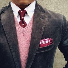 Nice pink sweater #Elegance #Fashion #Menfashion #Menstyle #Luxury #Dapper #Class #Sartorial #Style #Lookcool #Trendy #Bespoke #Dandy #Classy #Awesome #Amazing #Tailoring #Stylishmen #Gentlemanstyle #Gent #Outfit #TimelessElegance #Charming #Apparel #Clothing #Elegant #Instafashion