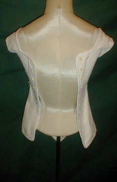 """Early 1820-1830 Cotton Corset 