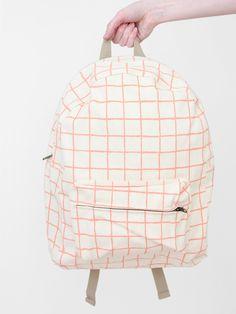 Dusen Dusen's signature backpack.