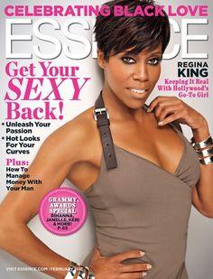 Regina King covers Essence Magazine (February, 2011)
