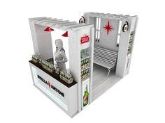 Stella Artois, Exhibition Booth, Behance, Display, Check, Design, Gallery, Ideas, Cooking School