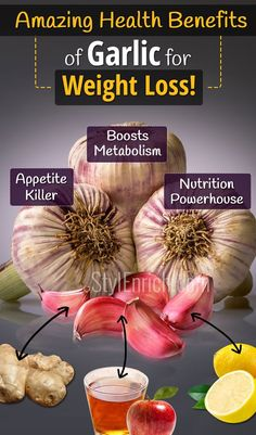 #GarlicForWeightLoss : Amazing Health Benefits of Garlic for Weight Loss! Weight loss in a healthy way is the ideal goal to remain healthy in the longer... - StylEnrich - Google+