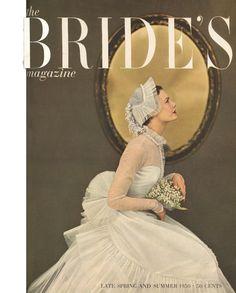 Bride's Magazine SPRING/SUMMER 1950 (Cover image by Richard Avedon!)
