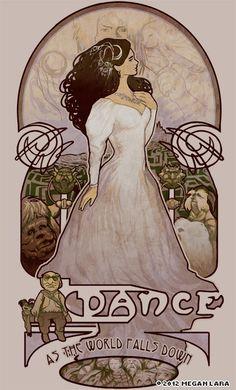 MeganLara | Beautiful Art Nouveau Style Illustrations by young artist Megan Lara .
