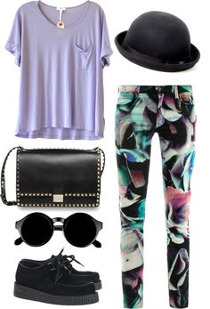 """""""purple"""" by hartford-1 on Polyvore"""