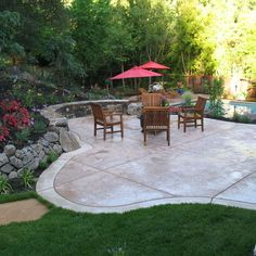 Stamp Concrete Patio Design Ideas, Pictures, Remodel, and Decor - page 10