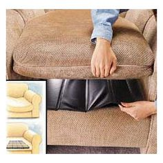 Seat Savers Instantly give your sagging sofa, loveseat or chair like-new comfort and firmness.