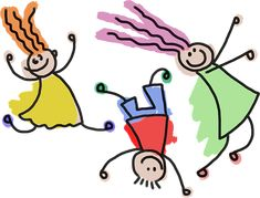 Happy Kids Post Cards For Kids - Set of 10 by LittleTurtlesDesign on Etsy Ultramarines, Stick Figure Drawing, Core Stability, Weekend Activities, Preschool Activities, Jumping For Joy, Site Internet, Stick Figures, Drawing For Kids