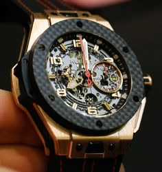 Hublot Big Bang Ferrari Watches For 2013