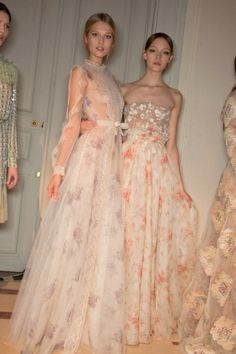 Inspiration for you to consider for bridal party for next summer 2015... Merely a suggestion to look for something different your girls could never spend for a true valentino dress.. I am sure if you like the idea of something different you could find a lower price option it would be a fun look (this photo by judeeflick)
