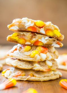 candy corn cookie
