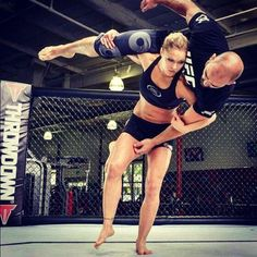 ronda rousey - soon to be the first woman fighter in the UFC
