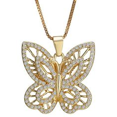 GET $50 NOW | Join RoseGal: Get YOUR $50 NOW!http://www.rosegal.com/necklaces/graceful-multilayered-rhinestone-butterfly-necklace-441993.html?seid=2295208rg441993