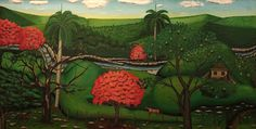 Pintores Cubanos Contemporáneos: Exposición en homenaje al pintor cubano Ruperto Ja...