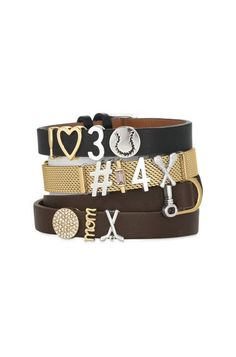 Goal! Best hockey mom ever alert. Show your spirit for all the sports you love by designing your own personalized bracelet! keep-collective.com/with/kristencrawford