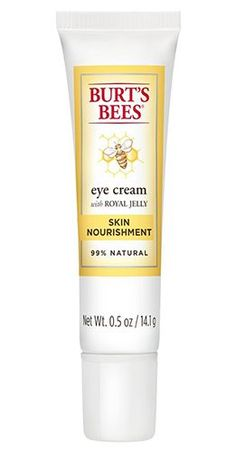 3 Super Affordable Eye Creams Celebrities Swear By For Younger-Looking Skin Best Night Cream, Anti Aging Night Cream, Mary Kay Ash, Burt's Bees Eye Cream, Whitening Cream For Face, Skin Whitening, Apple Cider Vinegar For Skin, Homemade Eye Cream, Face Cream For Wrinkles