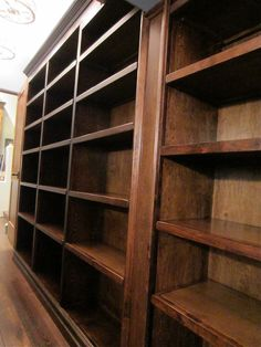 Handmade walk-in pantry and shelving units by Thecarpenterant