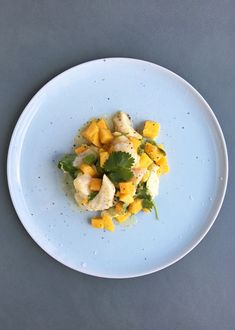 CEVICHE MED SITRONBALSAMICO Frisk, Ceviche, Thai Red Curry, Ethnic Recipes, Food, Meals, Yemek, Eten