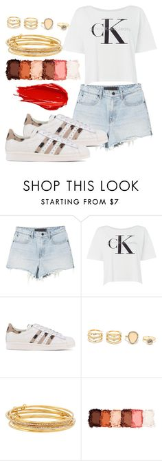 """Untitled #49"" by londero-danielle ❤ liked on Polyvore featuring Calvin Klein, adidas Originals, LULUS, Kate Spade, Urban Decay and NYX"