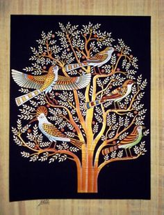 29 Best Ideas Tree Painting On Canvas Products Tree Of Life Images, Tree Of Life Artwork, Tree Of Life Painting, Tree Art, Art Indien, Kalamkari Painting, Madhubani Art, Indian Folk Art, Indian Art Paintings