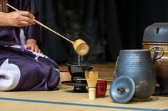 Una ceremonia de té