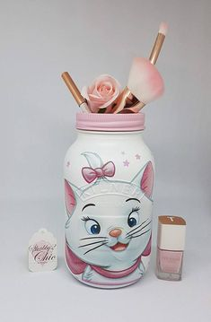 Marie Aristocat design 1 ltr Kilner pot chambre Home Decor
