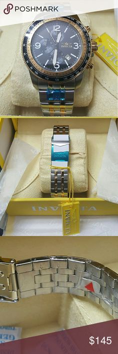 Big sale,NWT Invicta $900 Chronograph Watch Monday sale, FIRM PRICE   BRAND NWT Invicta Chronograph Men's Watch.  FIRM PRICE FIRM PRICE  $250. 00 . AUTHENTIC WATCH  . AUTHENTIC BOX  . AUTHENTIC MANUAL   SHIPPING  I WILL SHIPPED THE ITEM THE SAME BUSINESS DAY.  THANK  THANK YOU FOR YOUR UNDERSTANDING Invicta Accessories Watches