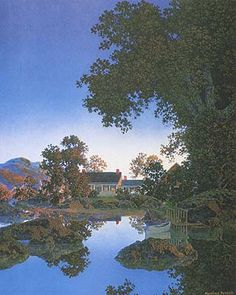 Maxfield Parrish, Evening Shadows