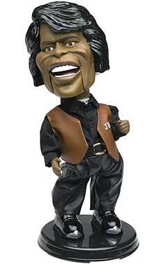 James Brown doll.