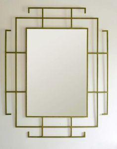 Gorgeous mirror from Van Collier Designs. @vancollierdesig