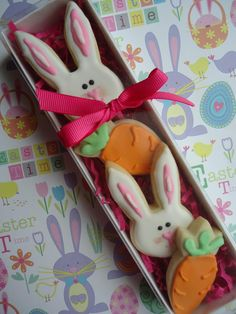 Easter bunny gift box | Cookie Connection