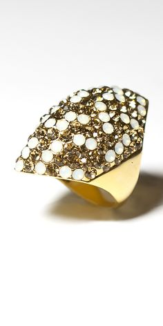 Meghan Fabulous Eclipse Ring. Comes in many other glitz  colors also. Her animal, reptile & fish rings are great also. Big sale going on now on this ring and many other items.