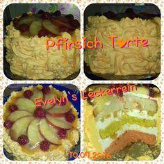 Pfirsich Torte
