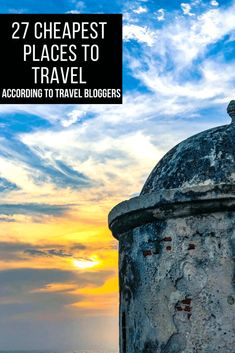 27 Cheap Places to Travel in the World in 2020 Cheap places to travel in the world? They do exist! Check out this detailed list curated by 27 experienced Cheap Places To Travel, Top Travel Destinations, Travel Deals, Cheap Travel, Budget Travel, Travel Guides, Travel Tips, Travel Images, Travel Photos