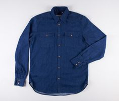 Levi's Made & Crafted Indigo Denim Shirt http://www.sprhuman.com/levis-made-crafted-indigo-denim-shirt/
