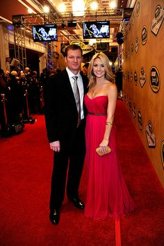 "Dale Jr and ""girlfriend"" Amy Reimann"